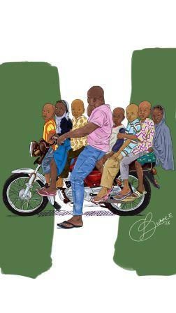 Illustration by Waale - The Spark Youth Empowerment Platform in Nigeria