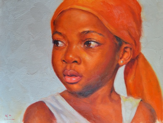 Impressionist art by Raji - the spark youth empowerment platform in nigeria