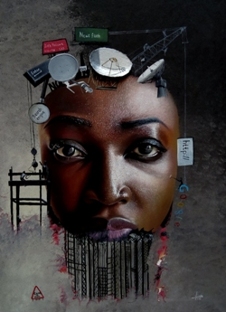 visual art by Luke - the spark youth empowerment platforms in nigeria