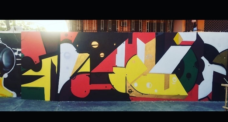 Graffiti art by Fawas Dayo - the spark youth empowerment platforms in Nigeria
