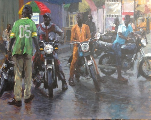 Painting by Opeyemi - the spark youth empowerment platform in Nigeria