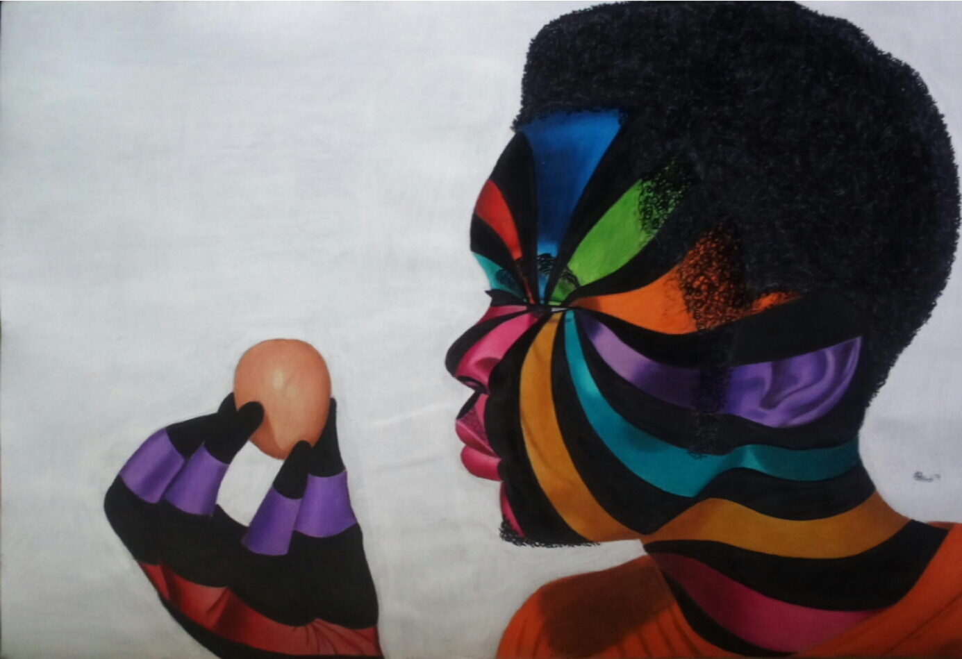 Visual art by Olawale - the spark youth empowerment platform in nigeria