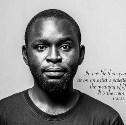 Profile of Tony Efeakpokrire the art director - the spark youth empowerment platforms in Nigeria