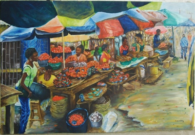 Fine art by Abdulkareem - the spark youth empowerment platform in Nigeria
